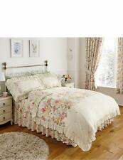 Summer Tide Floral Duvet Quilt Frilled Cover Set