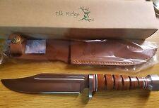 Elk Ridge Fixed Blade Knife New Hunter ER-047