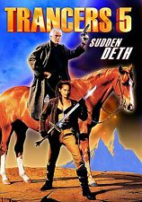 TRANCERS 5: SUDDEN DETH Tim Thomerson DVD in Inglese NEW .cp