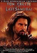 The Last Samurai 2-Disc Widescreen Edition Tom Cruise Region 4 DVD VGC