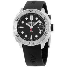 Alpina Adventure Diver Black Dial Black Silicone Strap Men's Watch AL240LB3V6