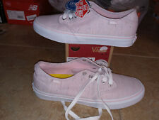 NEW $54 Womens Vans Camden Deluxe Speckle Pink Shoes, size 11