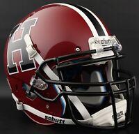 *CUSTOM* HARVARD CRIMSON NCAA Schutt XP Authentic GAMEDAY Football Helmet