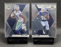 2020 Mosaic CeeDee Lamb Base & NFL Debut Rookie Card RC lot (2) - Cowboys 🔥