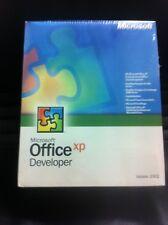 Microsoft Office XP/2002 Developer, retail, tedesco con fattura IVA