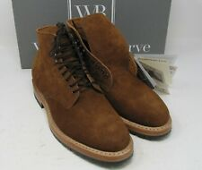 "Whites Boots, Main Street.Caramel Suede. 8.5 E, 5 "", Half lug sole."