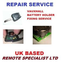 Vauxhall astra  Zafira 2 button Remote key fob Batery holder Repair service
