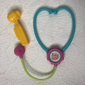 Hasbro Baby Alive Stethoscope and Otoscope Doctor Replacement Accessories 2007