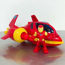 Playskool Marvel Super Hero Adventures IRON MAN VEHICLE ADVENTURES jet plane