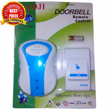 Branded Baoji Wireless Cordless Calling Remote Door Bell for Home Office Shop