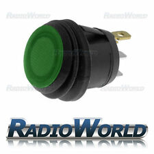 Green Illuminated Push Switch 10A 12V SPST Waterproof Dust Water Proof IP65
