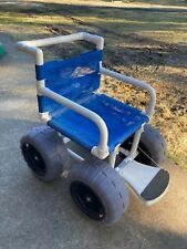 "Beach Wheelchair, 16"" Balloon Tires for Soft Sand - Used"