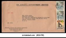 JAMAICA - 1978 AIR MAIL ENVELOPE TO USA WITH STAMPS