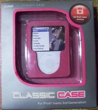 IWAVE CLASSIC iPOD CASE FOR iPOD NANO 3rd GENERATION - MAGENTIA CASE #ICN3120-RD