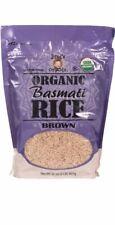 Two USDA organic Brown Basmati rice Packs and kosher. 2 Pack Deal