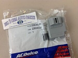 Chevrolet Silverado Avalanche GMC Sierra Inside Air Temp SENSOR ASPIRATOR new OE