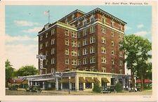 Hotel Ware Waycross GA Postcard 1946