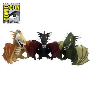 Game Of Thrones Dragon Plush Box Set San Diego Exclusive Sdcc 2017