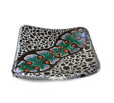 Rare Marino Le Vaucour Vallauris French Art Pottery Mid Century Mod Pottery Dish