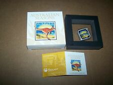 2013 Australian Seasons-Summer 1oz Silver Proof Square Coin
