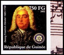 Handel Imperf MNH, Music, Composer, Rotary International - D@