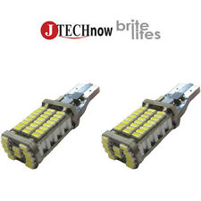 2x T10 60 SMD LED Extremely Bright  CANBUS Type Bulbs for Backup Reverse Lights