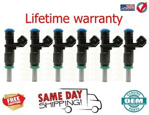 X6 Genuine  Fuel Injectors f BMW 328xi 2007 - 2008 3.0L 7531634 USA