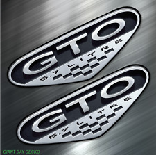 (2) TWO Pontiac GTO Vinyl Decal Sticker For Car Laptop Skateboard NEW Judge Auto