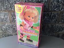 1991 Nrfb  Vintage Baby Skippi Rollerblade Doll Mattel Toy Nib Rare