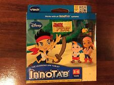 New VTech InnoTab Jake and the Neverland Pirates Game