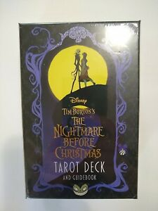 Ready To Ship The Nightmare Before Christmas TAROT Cards NEW SEALED Disney