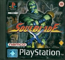 SoulBlade Sony Playstation 1 PS1 15+ Fighting Game
