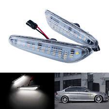 Blanc LED indicateur Clignotant Répétiteur Pour BMW E87 E46 E90 E91 E92 E60 E61