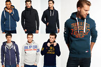 New Mens Superdry Hoodies Selection in Various Styles & Colours