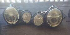 99 00 01 02  Mercedes E320 E420 E430 SONAR XENON PAIR LH AND RH  HEADLIGHTS USED