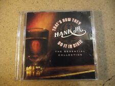Hank Williams Jr THAT'S HOW THEY DO IT IN DIXIE The Essential Collection 2006 CD
