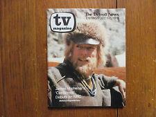 Oct 1, 1978 Detroit News TV Magazine(RICHARD CHAMBERLAIN/CENTENNIAL/DR. KILDARE)