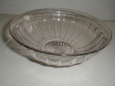 """Imperial Glass Iron Cross Mark Paneled COLONIAL/Chesterfield 8-1/2"""" Serving Bowl"""