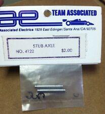 Vintage Team Assoc.  Stub Axle    Part #4122.... NIP