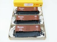 HO Scale Accurail Kit 3335 NYC New York Central 40' AAR Steel Box Car 3-Pack