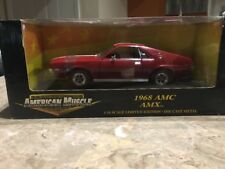 ERTL American Muscle 1969 AMC AMX 1:18 Scale Diecast Model Limited Edition Car