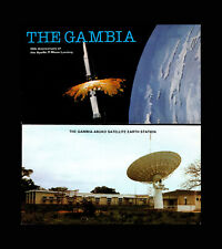Gambia, Sc #403a, MNH, 1979, Space, Apollo 11 Moon Landing Booklet Cpl., 8RHI