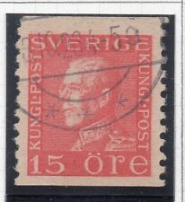 Sweden 1921-38 Early Issue Fine Used 15ore. 026715