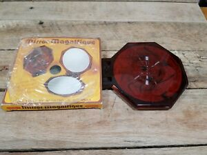 1970's NOS Mirror Magnifique #9174 Plastic Two Sided Mirror