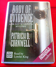 Patricia Cornwell Body Of Evidence Kay Scarpetta 8-Tape UNABR.Audio Lorelei King