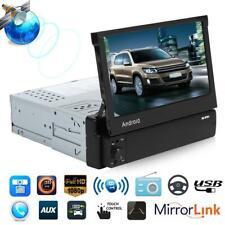 "7"" Autoradio 1DIN mit Android GPS Navigation Bluetooth Touchscreen USB MP5 FM"