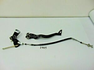 1905 Kawasaki Bayou220 Bayou 220 ATV OEM Rear Brake Pedal & Cable 93 1993 DY