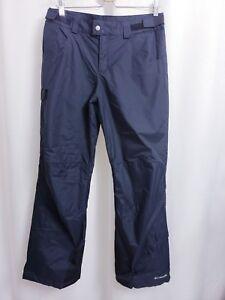 Columbia Starchaser Peak II Insulated Black Pants size 18/20 Omni Shield