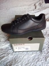 TIMBERLAND scarpa sneackers uomo in pelle colore NERO n. 4!.5 / 7.5 A154A M/M