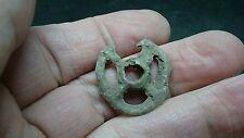Very rare lead Celtic Pronto money made as pendant not money L316